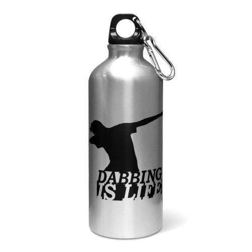 Dabbing Is Life Aluminium Sports Water Bottle / Canteen